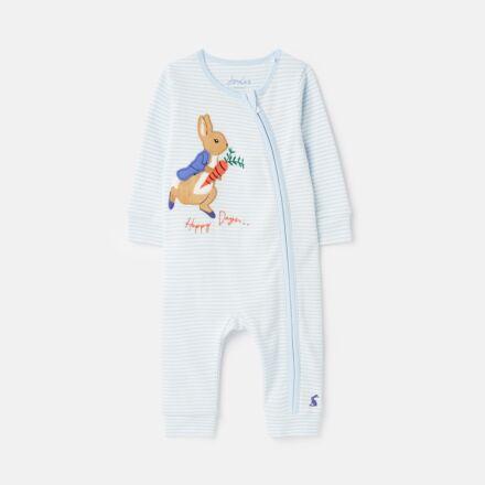 Joules Peter Rabbit Winfield Babygrow Blue Stripe