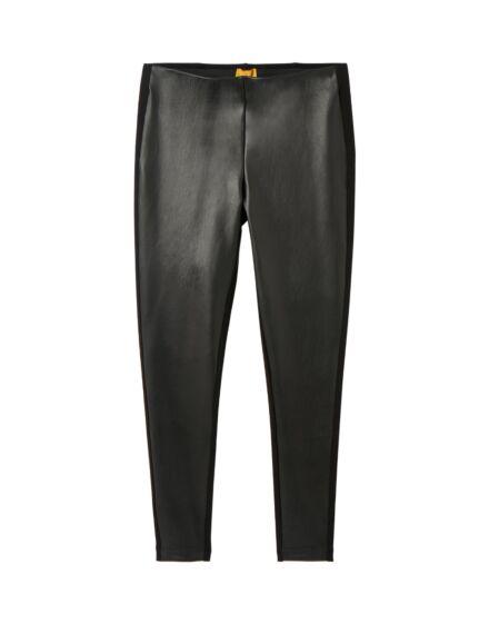 Joules Harriet Pleather Jersey Trousers True Black