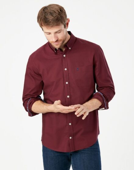 Joules Laundered Oxford Shirt Port