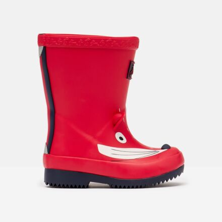 Joules Baby Printed Wellies Red Fox