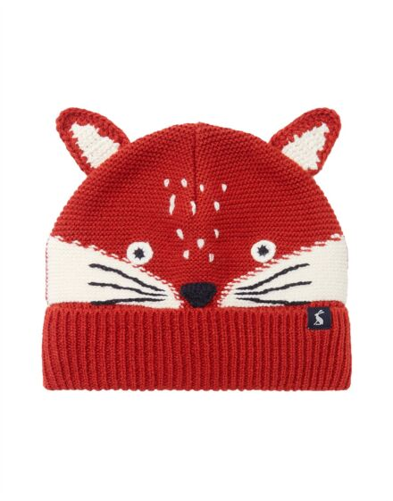 Joules Chummy Hat Fox Face
