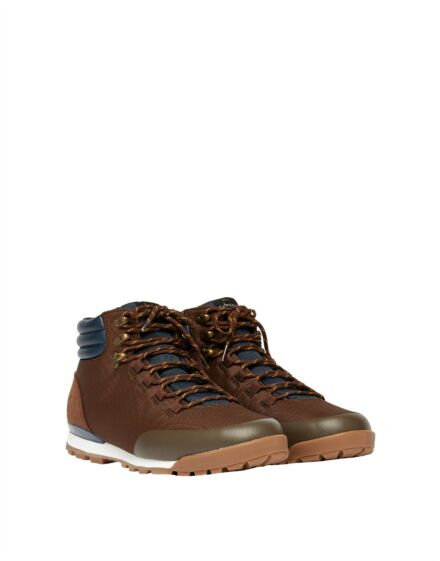 Joules Men's Chedworth Waterproof Hiking Boot Brown