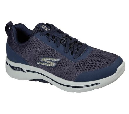 Skechers GoWalk Arch Fit - Idyllic Navy/Gold