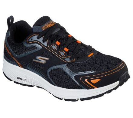 Skechers GoRun Consistent Black/Orange