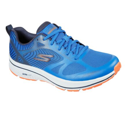 Skechers Gorun Consistent - Fleet Rush Blue/Orange