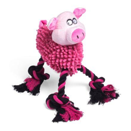 Petface Noddle Pig Dog Toy