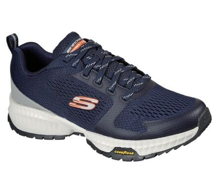 Skechers Street Flex - Eliminator Navy/Orange