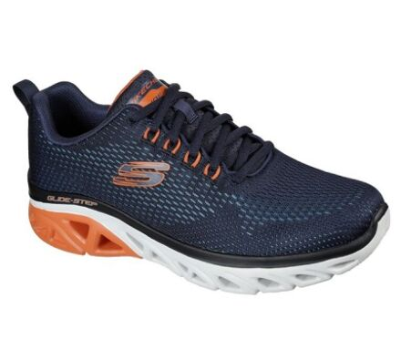Skechers Glide-Step Sport Wave Heat Navy/Orange