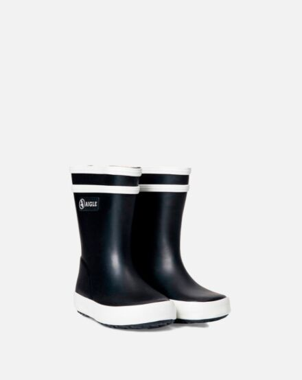 Aigle Baby Flac Rubber Boots Marine