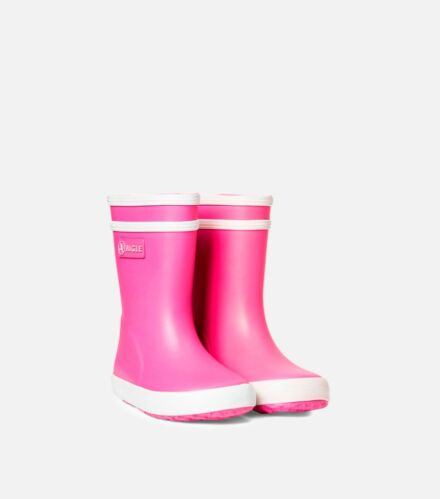 Aigle Baby Flac Rubber Boots Rose