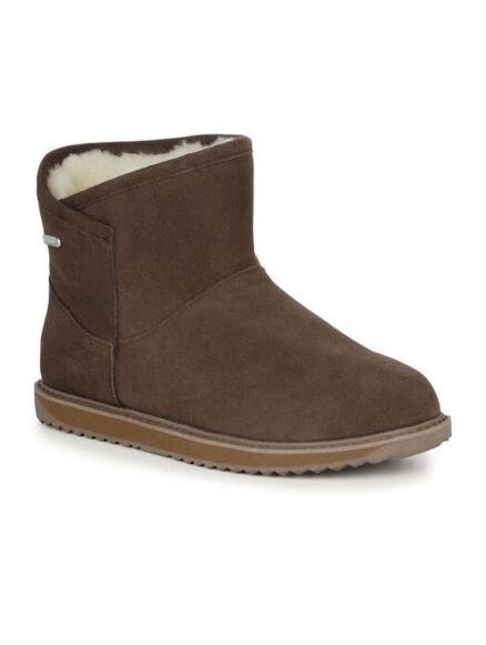 Emu Dofida Mini Waterproof Suede Boots Oak