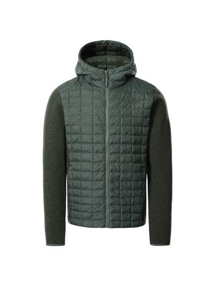 The North Face Thermo Gordon Lyons Fleece Jacket Laurel Wreath Green/Thyme Dark Heather