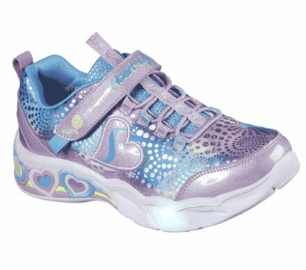 Skechers S Lights: Sweetheart Lights Lavender/Multi
