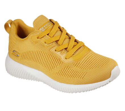 Skechers Women's Bobs Sport Squad-Tough Talk Yellow