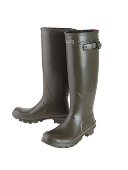 Barbour Women's Bede Wellington Boots Olive