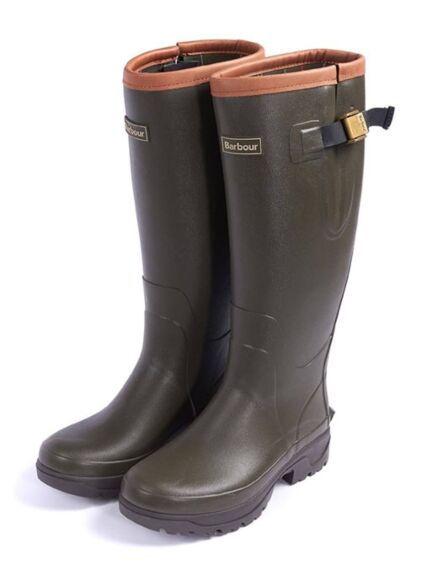 Barbour Womens Tempest Wellington Boot Olive