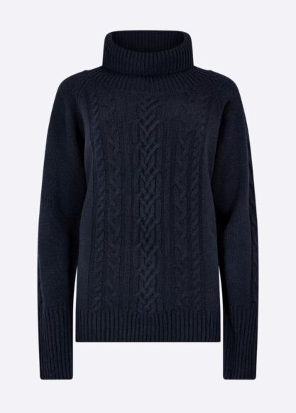 Dubarry Kennedy Knitted Sweater Navy