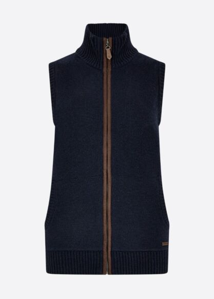 Dubarry Sheedy Knit Bodywarmer Navy