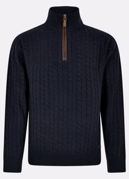 Dubarry Thompson Knitted Sweater Navy