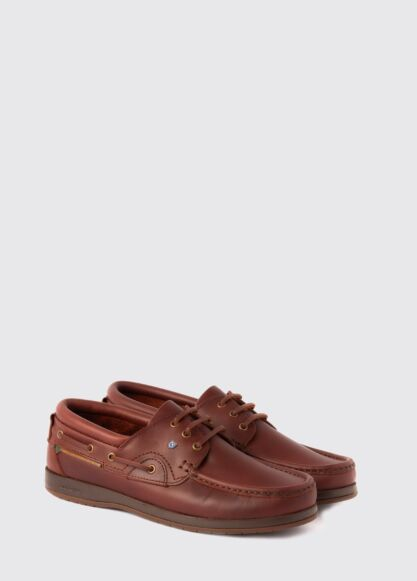 Dubarry Commodore X Lt Deck Shoes Mahogany