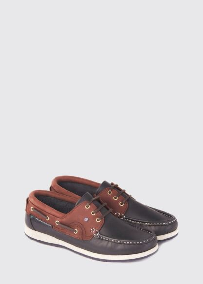 Dubarry Commodore XLT Deck Shoe Navy/Brown