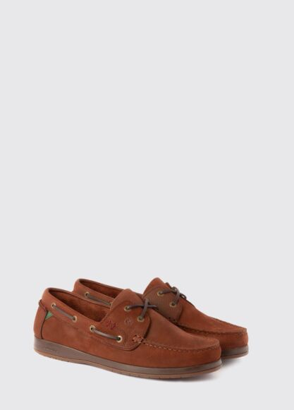 Dubarry Armada X LT Deck Shoes Walnut