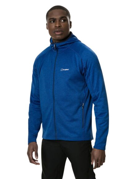 Berghaus Men's Spitzer Hooded Interactive Jacket Blue