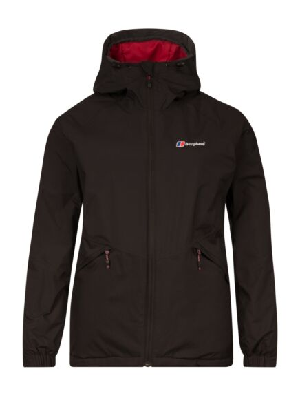 Berghaus Women's Deluge Pro Insulated Jacket Jet Black