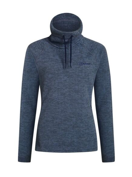 Berghaus Women's Canvey 1/2 Zip Fleece Blue