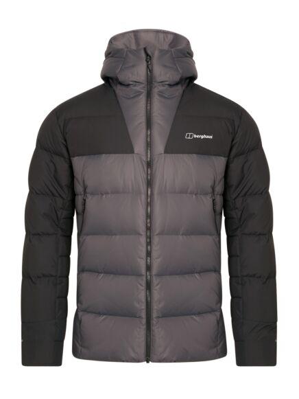 Berghaus Men's Ronnas Reflect Down Jacket Grey Pinstripe/Black