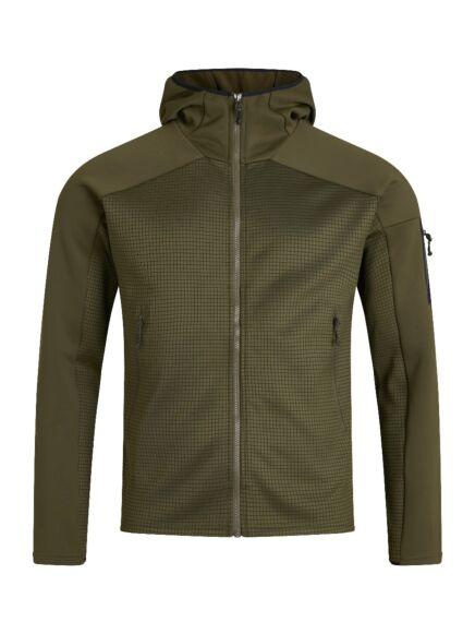 Berghaus Men's Sidley Hooded Fleece Jacket Ivy Green