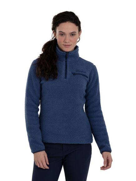 Berghaus Women's Half Zip Darria Fleece Blue