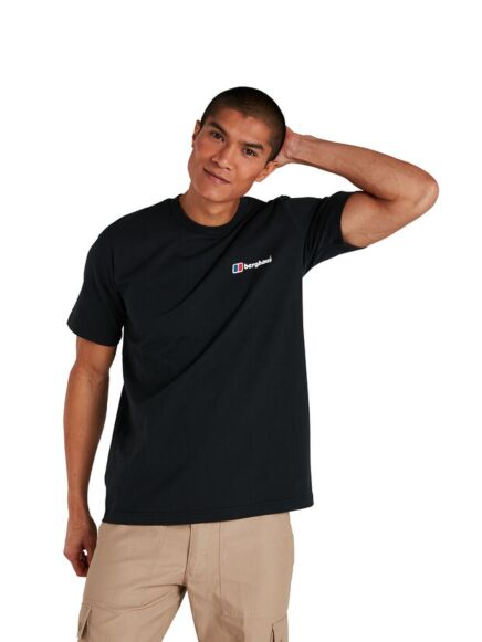 Berghaus Men's Organic Classic Logo T-Shirt Black