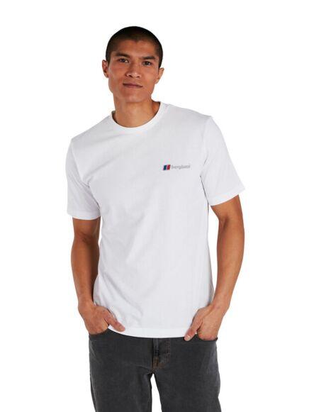 Berghaus Men's Organic Classic Logo T-Shirt White