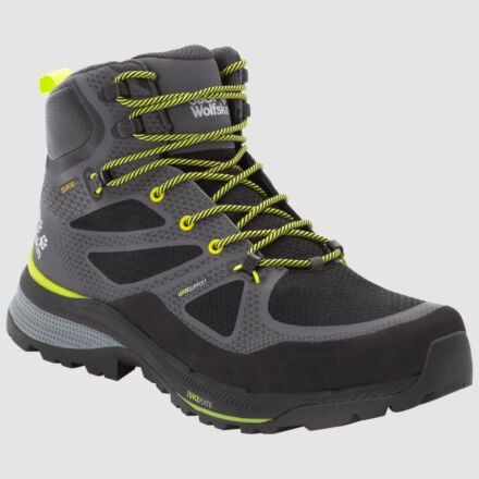 Jack Wolfskin Force Striker Texapore Mid Boots Grey/Lime