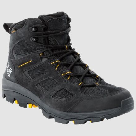 Jack Wolfskin Vojo 3 Texapore Mid Hiking Boots Black/Yellow