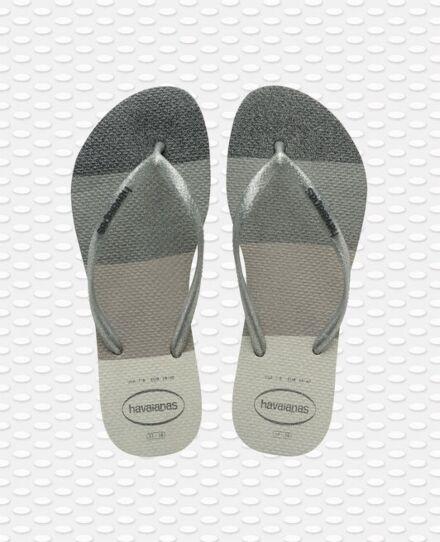Havaianas Slim Palette Glow Flip Flops White