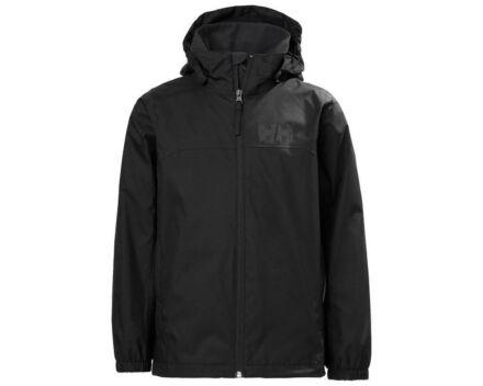 Helly Hansen JNR Urban Rain Jacket Black