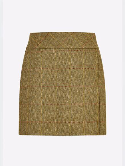 Dubarry Women's Bellflower Tweed Skirt Elm