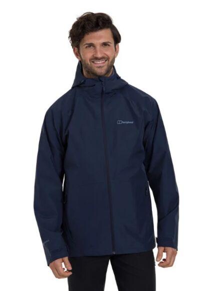 Berghaus Men's Paclite 2.0 Waterproof Jacket Dark Blue