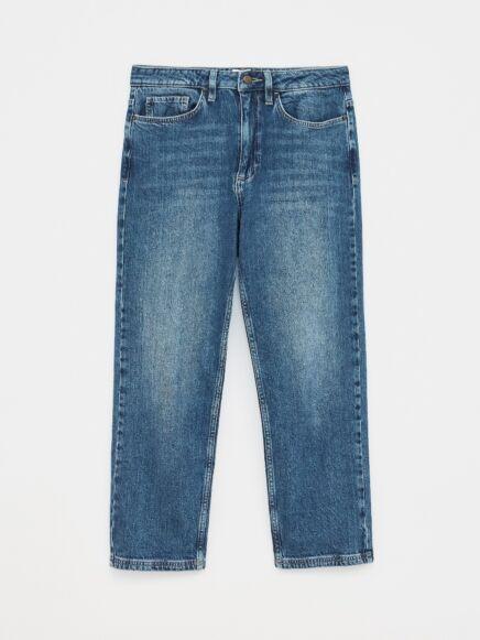 White Stuff Skye Straight 7/8 Jeans Mid Denim