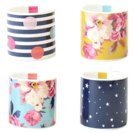Joules Set Of 4 Egg Cups