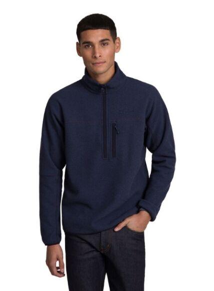 Berghaus Men's Stainton 2.0 Half Zip Fleece Dark Blue