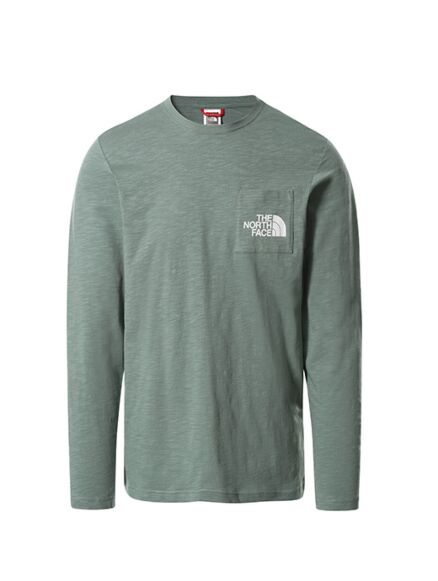 The North Face Long Sleeved Tissaack T-Shirt Laurel Wreath Green