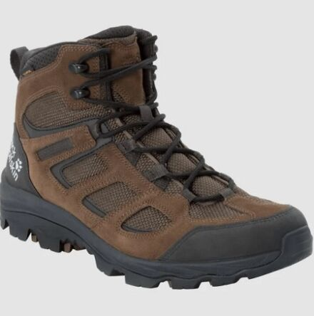 Jack Wolfskin Men's Vojo3 Texapore Mid Hiking Boots Brown/Phantom