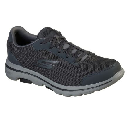 Skechers GoWalk 5 - Demitasse Charcoal/Black