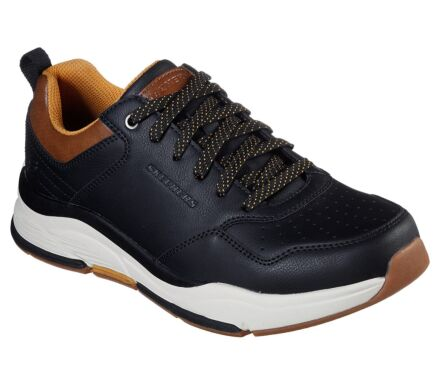 Skechers Men's Relaxed Fit: Benago-Treno Black Clearance