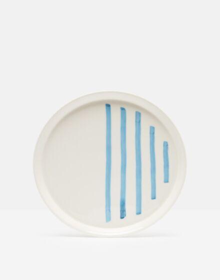 Joules Dinner Plate Blue Stripe