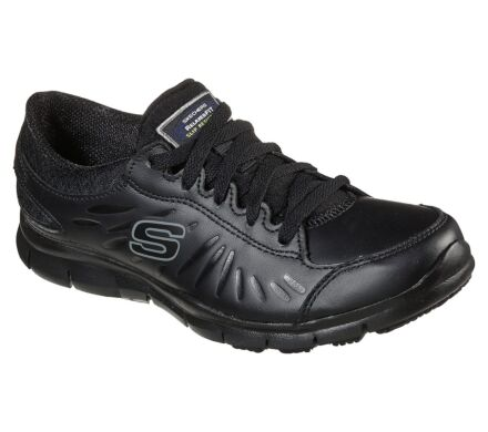 Skechers Work Relaxed Fit:Eldred Black