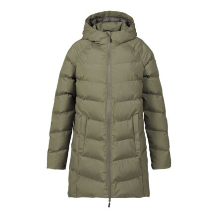 Musto Women's Marina Long Quilted Jacket Deep Green